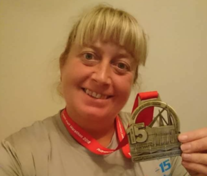 In October 2018 Rachel Williams  completed the Cardiff Half Marathon  to fundraise for us!! Well done Rachel!! We think you're fab!