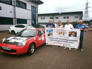 In July 2018 two of our followers Dave Bowyer and Nigel Williams took part in the Monte Carlo or Bust Rally to fundraise for us!! It was fab to see their daily updates of their adventures.