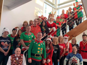 We'd like to say a huge thank you to the Finance Team in Revenues at NPTCBC based at Neath for raising £307 for us in December in their Christmas Raffle! Thank you all so much!!