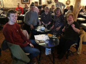 December 2019, saw us hosting our first pub quiz at Tyn Y Twr in Baglan.  A wonderful evening of fun and laughter was had, with one attendee saying that it had literally made her family's Christmas! We hope to hold one every year as a way also for us to say thank you to our supporters, and pass on positive pieces of news for the year.  Nadolig Llawen!